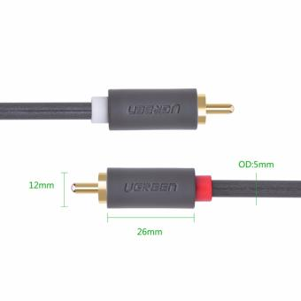 UGREEN 2RCA Male to 2RCA Male Stereo Audio Cable (3m) - 5