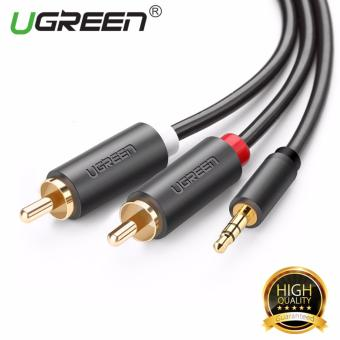 UGREEN 3.5mm to 2RCA Male Y Splitter Audio Cable for Headphone CellPhone (2m) - Intl