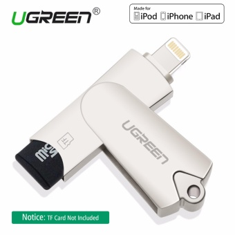 UGREEN Lightning to USB 2.0 TF Card Reader for iPhone 6/6s 7PlusiPod iPad Air Mini 3 4 iOS Device - intl