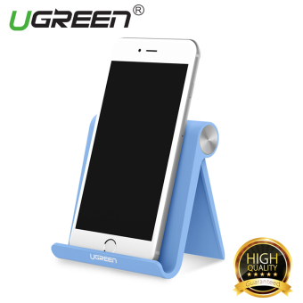 UGREEN Universal Multi-Angle Desk Stand Holder for Cellphone Tablet(Blue) - Intl