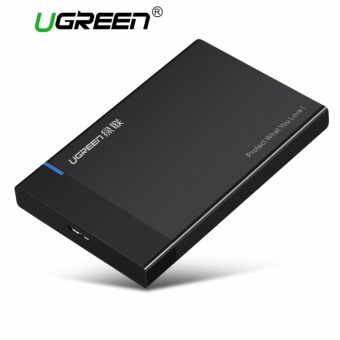 UGREEN USB 3.0 to SATA External Hard Drive Enclosure for 2.5 InchHDD and SSD Up to 6TB, Support UASP Black - intl