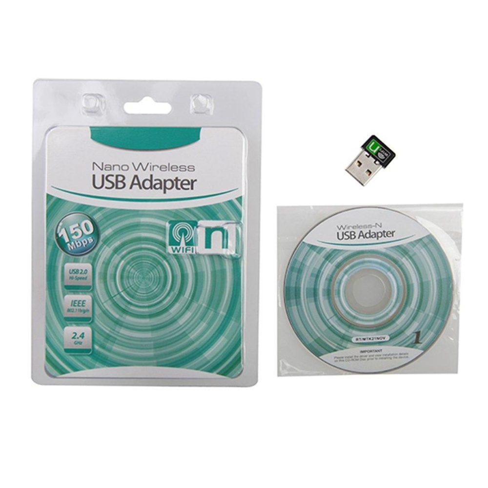 Philippines Uinn Mini Usb Wireless Adapter Hs 1500 80211n Pc Dongle Wifi Receiver Network Card 150mbp