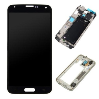 UK LCD Display Touch Screen Digitizer + tools For Samsung Galaxy S5 i9600 G900A - intl
