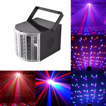 U'King Stage Light DJ Lights Dance Club Party Disco Light KTV BarEffect Lighting Sound Active DMX512 Control RGBW Projection Lamp -intl