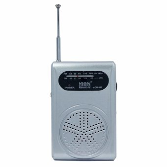 Ultra-Handy AM/FM Pocket Radio Mon387