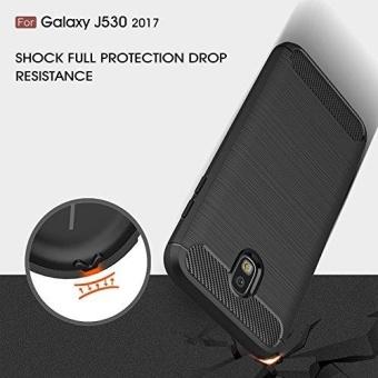 Ultra Light Carbon Fiber Armor ShockProof Brushed Silicone GripCase for Samsung Galaxy J5 Pro 2017 J530 - intl - 2
