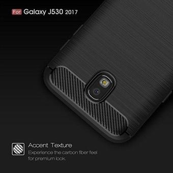 Ultra Light Carbon Fiber Armor ShockProof Brushed Silicone GripCase for Samsung Galaxy J5 Pro 2017 J530 - intl - 4