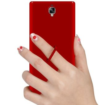 Ultra Slim Fit Hard PC Snap-On Case Cover for OnePlus 3T - Red -intl - 3