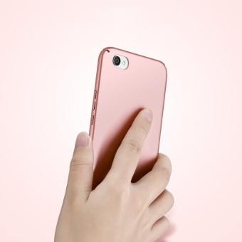 Ultra Slim Fit Shell Hard Plastic Full Protective Anti-ScratchResistant Cover Case for Vivo Y66 / V5 Lite (Silky Rose Gold) -intl - 4