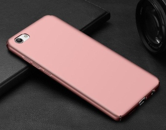 Ultra Slim Fit Shell Hard Plastic Full Protective Anti-ScratchResistant Cover Case for Vivo Y66 / V5 Lite (Silky Rose Gold) -intl - 3