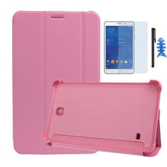 Ultra Slim Leather Case Cover For Samsung Galaxy Tab 4 7Inch SM-T230 Pink - intl