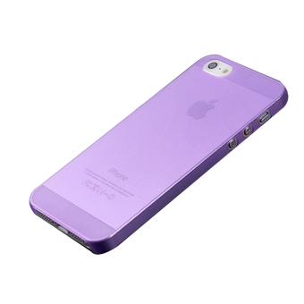 Ultra Thin 0.3mm Back Hard Case for Apple iPhone 5 5S (Purple)