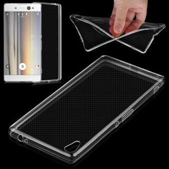 Ultra Thin 0.3mm TPU Clear Transparent Case Cover For Sony XperiaXA Ultra