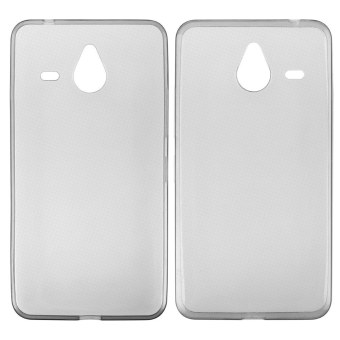 Ultra thin 0.3mm TPU Silicone Gel Clear Crystal Cover Case forMicrosoft Lumia 640 XL Transparent