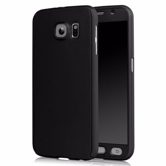 Ultra-Thin 360 Fullprotection Cover Case For Samsung Galaxy S7(Black)