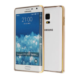 Ultra Thin Case Luxury Cover for Samsung Galaxy Note edge N9150 (Gold)
