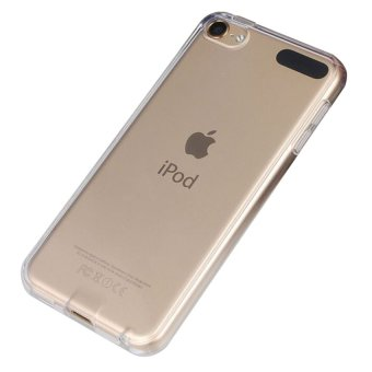 Ultra Thin Clear TPU Soft Case Back Cover for Apple iPod Touch 6(Clear)
