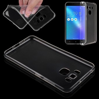 Ultra Thin Clear Transparent TPU Gel Soft Case Cover Skin for AsusZenfone 3 Max ZC553KL - intl