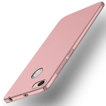 Ultra Thin PC Case For Xiaomi Redmi 4X Hard Shell Cover Anti-SlipMatte Coating Pink - intl - 2
