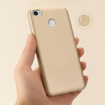 Ultra Thin PC Case For Xiaomi Redmi 4X Hard Shell Cover Anti-SlipMatte Coating Pink - intl - 4