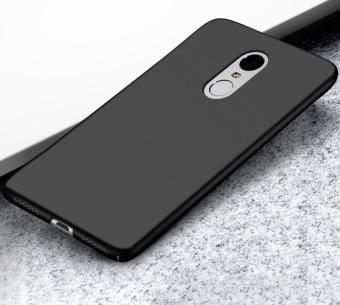 Ultra Thin PC Case For Xiaomi Redmi Note 4X Hard Shell CoverAnti-Slip Matte Coating Black - intl - 3