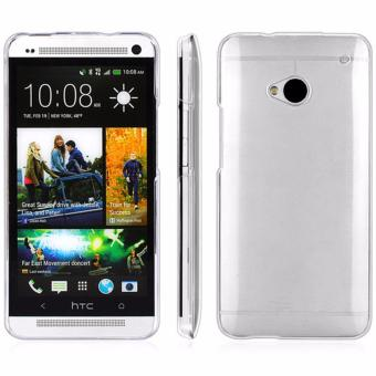 Ultra Thin Soft Crystal Transparent TPU Phone Case For HTC One M7 -intl