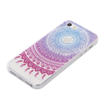 Ultra-Thin Soft Flexible TPU Case for iPhone 5 5s SE (Pattern-2) - intl - 2
