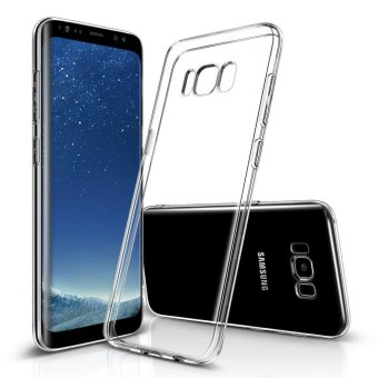 Ultra-thin Soft TPU Clear Case Crystal Transparent Slim Anti Slip Case Back Protector Cover Shockproof for Samsung Galaxy S8 Plus (Crystal Transparent) - intl