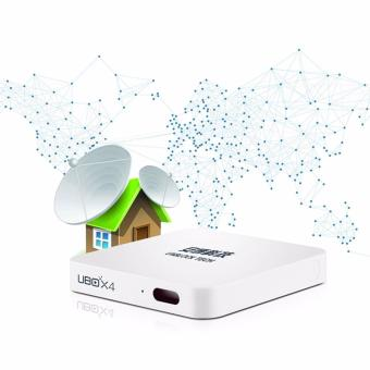 Unblock Tech UBOX4 Bluetooth 4K 16G Smart TV Receiver (White) - 3