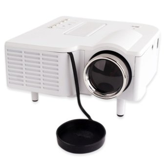 UNIC UC28+ Mini Projector with HDMI Multimedia Player (White)