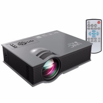 Unic UC46 1200 Lumens WIFI Portable LED Projector (Black)