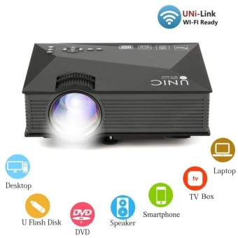 UNIC UC46 Portable 1080P WiFi Home Theater LED Projector - intl Price Philippines