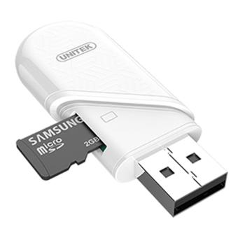Unitek Y-9323 Usb 3.0 Type C/Type A Micro SD Card Reader