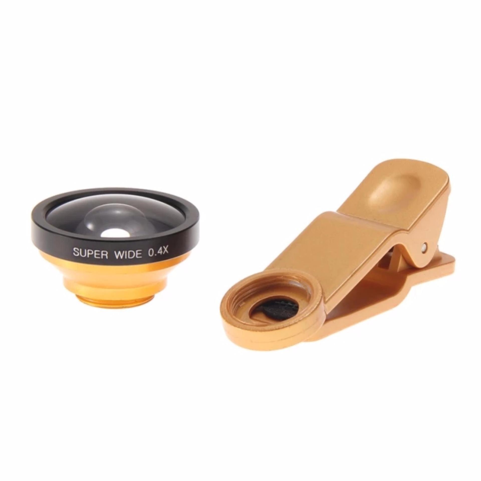 Universal Clip Lens Super Wide 04x U004 235 Hitam Spec Dan Daftar Lensa Superwide Degree With 0 4x Selfie Cam Gold