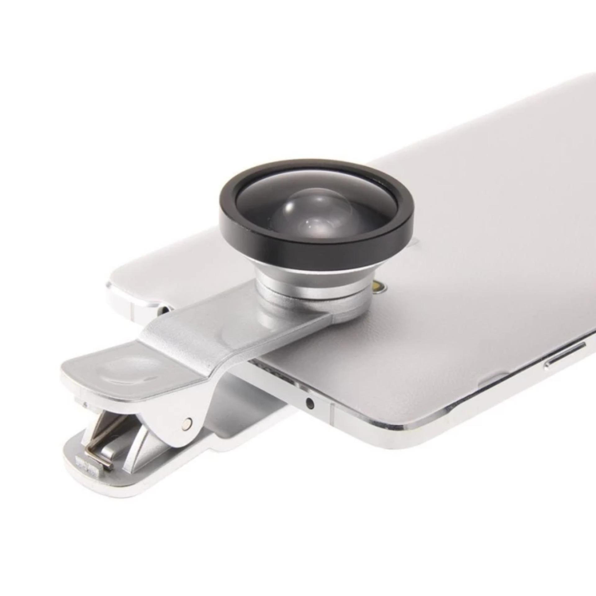 Universal Clip Lens Super Wide 04x U004 235 Daftar Harga Terbaru Lensa Superwide Degree With 0 4x Selfie Cam Silver