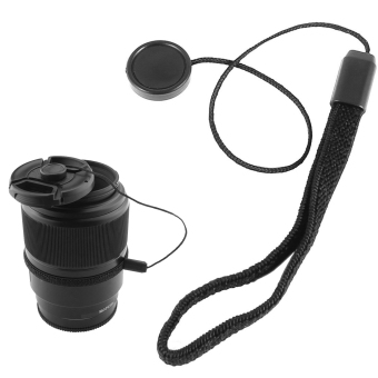 Universal DSLR Lens Cover Cap Holder Keeper Strap Cord String LeashRope for Canon Nikon Sony Camera Accessories