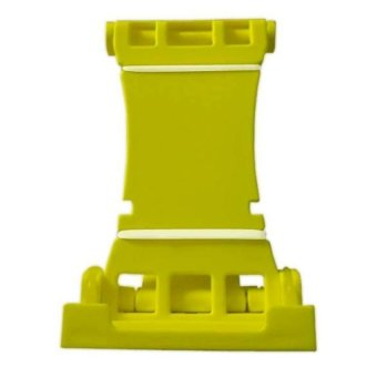 Universal Portable Patented Multi-Stand Holder for iPad iPhoneSmartphones and E-Reader (Yellow)