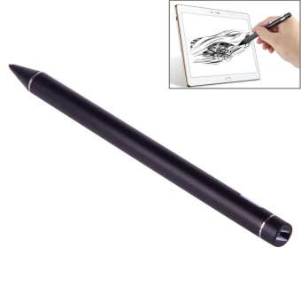 Universal Rechargeable Capacitive Touch Screen Stylus Pen With 2.3mm Superfine Metal Nib For IPhone, IPad, Samsung, And Other Capacitive Touch Screen Smartphones Or Tablet PC(Black) - intl