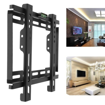Universal TV Wall Bracket LCD LED Frame Holder with Level Standard for Most 12 to 37 Inch TV - intl