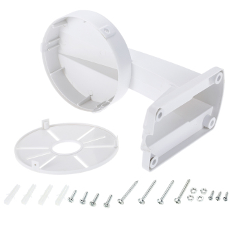 Universal Wall Mount Hanging Plastic Bracket For CCTV Dome Camera Waterproof Multiple Hole Sites Suit Different Camera Size - intl - 5