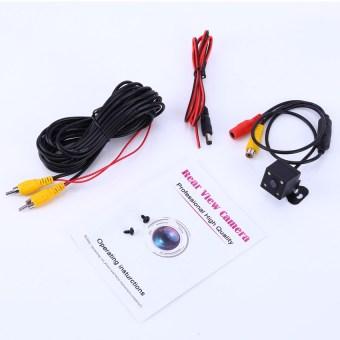 Universal Waterproof HD CCD Night Vision Car Rear View Camera - 5
