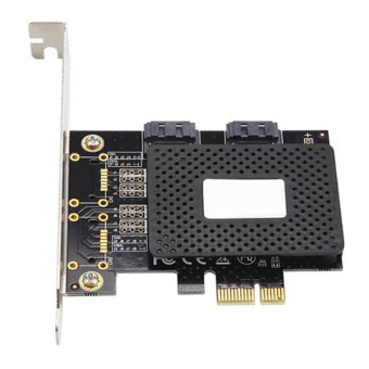 Uplift SATA 3.0 6Gbps 2-Port Dual Port Internal Expansion Card for PC