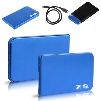 "USB 2.0 2.5"" IDE Hard Drive Enclosure (Blue) Price Philippines"
