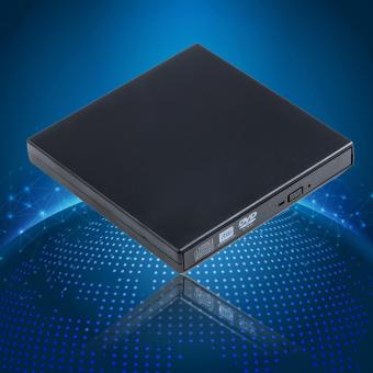 USB 2.0 External CD-RW/DVD-RW Burner Drive for PC,Mac,Laptop,Netbook (Black) - 3