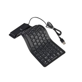 USB 2.0 Silicone Flexible Mini Keyboard