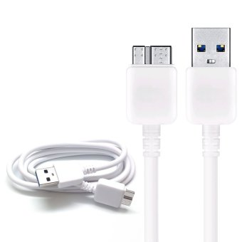 USB 3.0 Sync Data Charger Cable Lead For Samsung Galaxy Note 3 & S5 -White