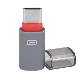 USB 3.1 Type-C Adapter Type C Converter Connector Male to Micro USBFemale (Red)