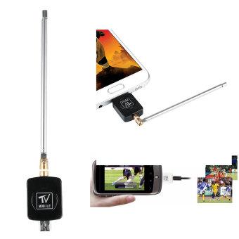 USB DVB-T Digital TV Tuner Receiver For Android Smartphone Tablet PC - Black - intl - 3