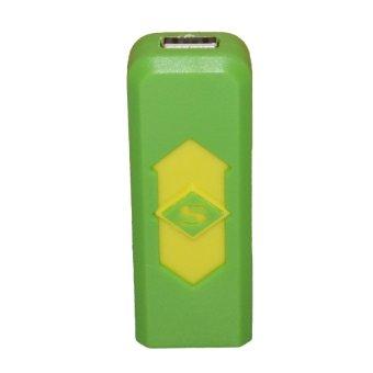 USB Electronic Cigarette Lighter (Green)