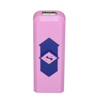 USB Electronic Cigarette Lighter (Pink) Price Philippines